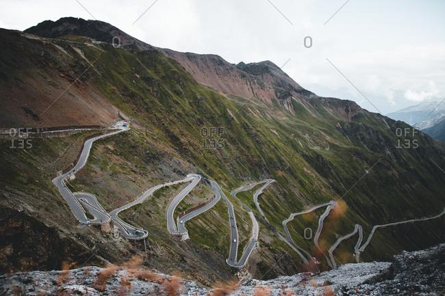 Italy, South Tyrol, Stelvio Pass