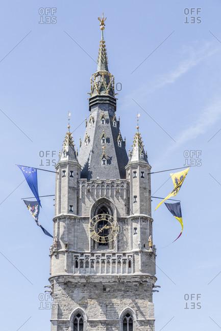 Belfry, Het Belfort van Gent, watchtower, bell tower, historical sight, Ghent, Flanders, Belgium