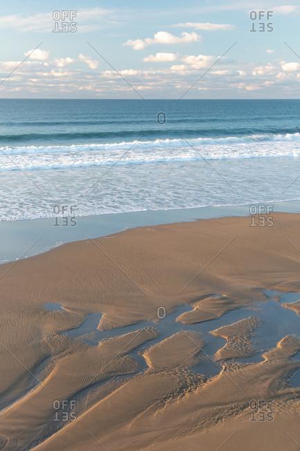 Trebarwith Beach, Cornwall, England, UK