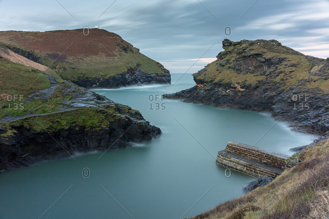 Warren Point, Boscastle, Cornwall, England, UK