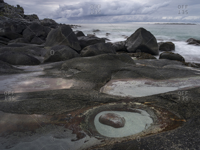 The Eye of Uttakleiv, Lofoten, Norway