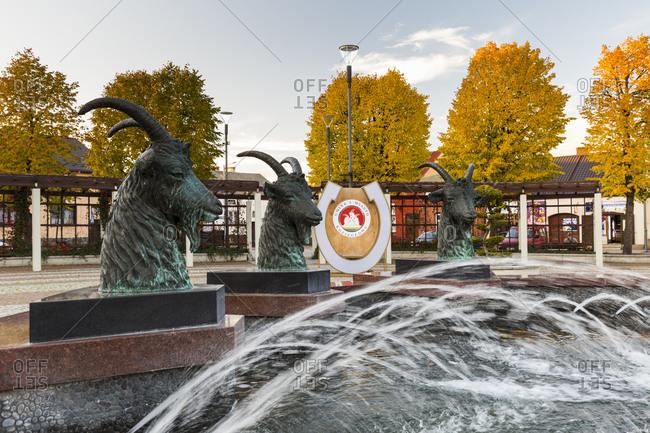 October 15, 2019: Europe, Poland, Silesian Voivodeship, Kozieglowy