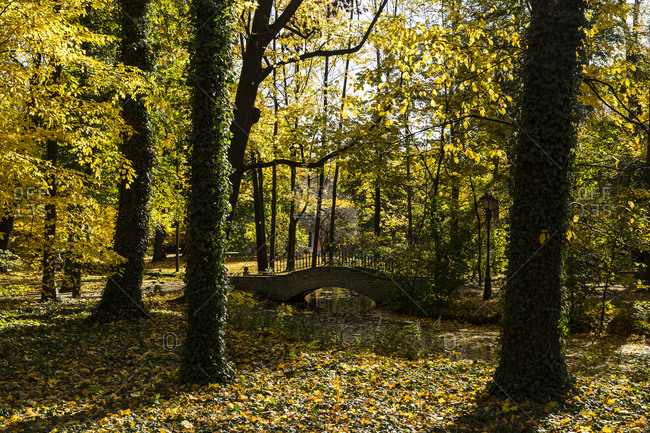 Europe, Poland, Lesser Poland Voivodeship, Zamek Suski, Castle in Sucha - Little Wawel, castle grounds
