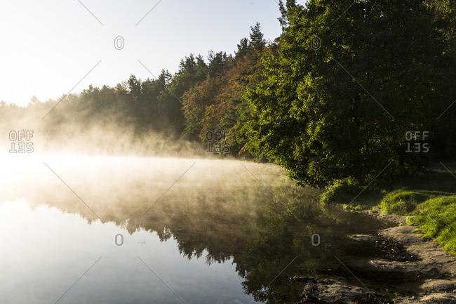 Europe, Poland, Pomerania, Kashubia, Kaschubei - Junno Lake