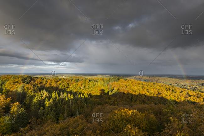 Europe, Poland, Pomerania, Kashubia, Kaschubei - Viewpoint Wiezyca