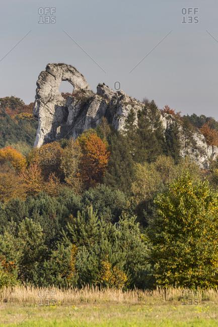 Europe, Poland, Silesia, Krakow-Czestochowa Upland, Polish Jurassic Highland - Okiennki Wielki