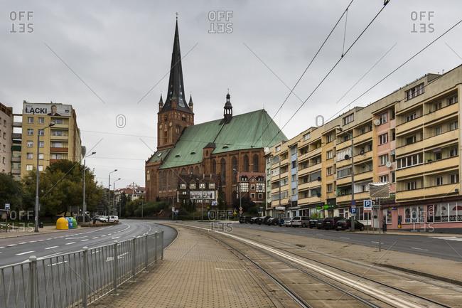 September 29, 2019: Europe, Poland, West Pomeranian Voivodeship, Szczecin, Stettin