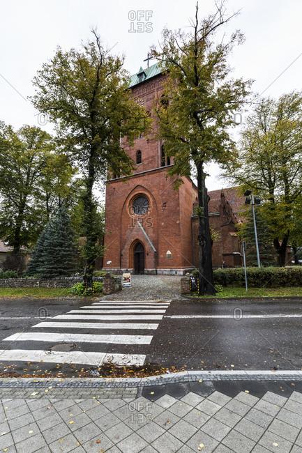 Europe, Poland, West Pomeranian Voivodeship, Kamien Pomorski, Cammin - Cathedral of St. John the Baptist