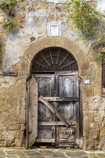 September 2, 2018: Sorano, Tuscany, Italy