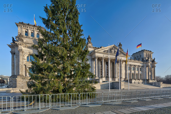 Reichstag, Bundestag, government district, Berlin, Germany