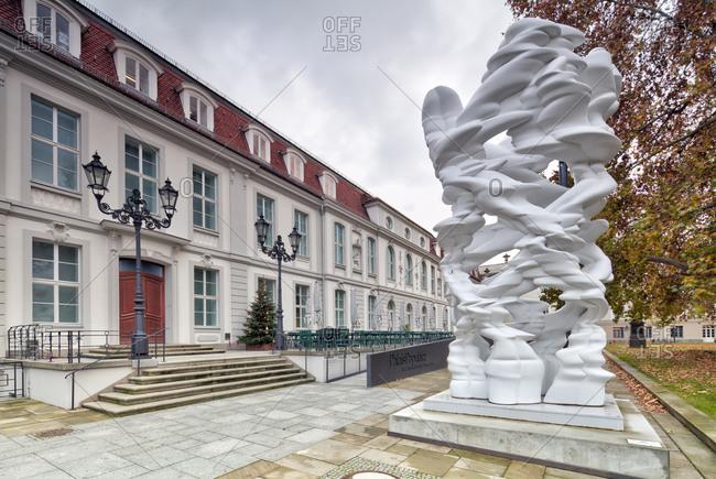 December 3, 2019: Palais Populaire, Prinzessinnenpalais, Unter den Linden, Bebelplatz, venue, Berlin, Germany