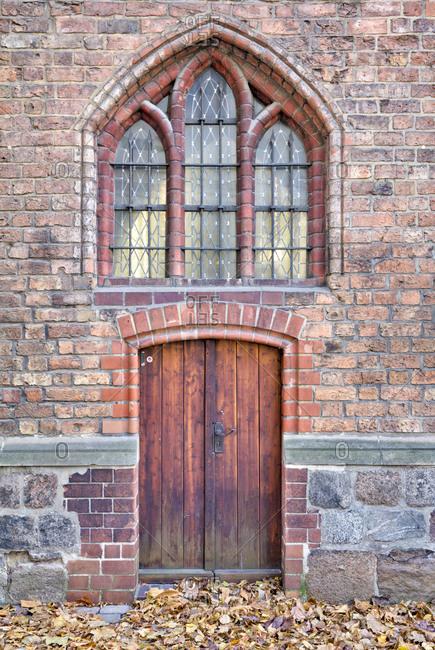 Nikolaikirche, church door, museum, concert hall, Nikolaiviertel, Berlin's historic center, Berlin, Germany