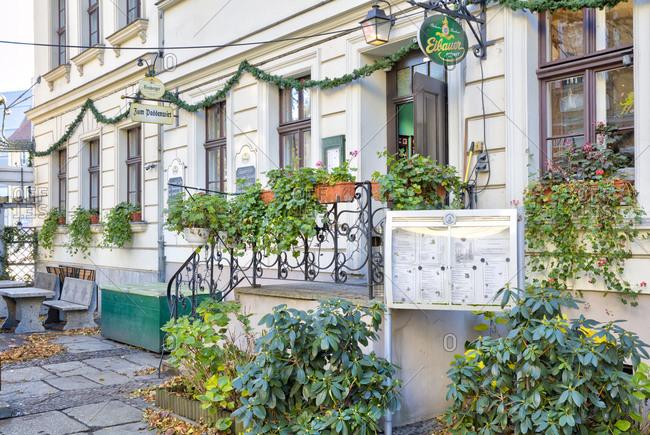 December 3, 2019: Zum Paddenwirt, restaurant, tavern, restaurant, gastronomy, Nikolaiviertel, Berlin Mitte, Berlin, Germany