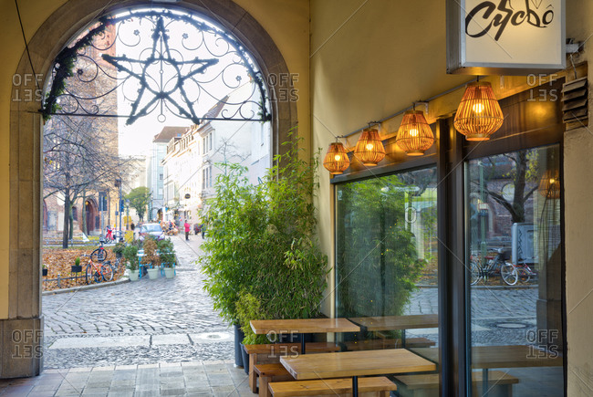 December 3, 2019: Chycho, restaurant, gastronomy, Nikolaiviertel, Berlin Mitte, Berlin, Germany