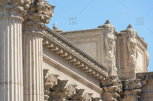 November 1, 2019: Palace of Fine Arts, San Francisco, California, USA