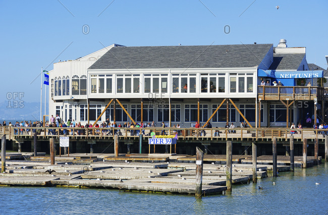 October 1, 2019: Pier 39, Fisherman's Wharf, San Francisco, California, USA