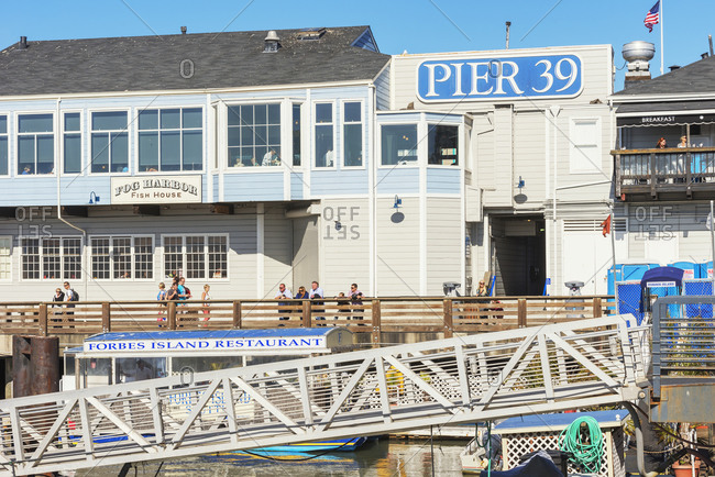 November 1, 2019: Pier 39, Fisherman's Wharf, San Francisco, California, USA