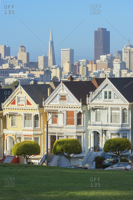 The Painted Ladies, Alamo Square, San Francisco, California, USA