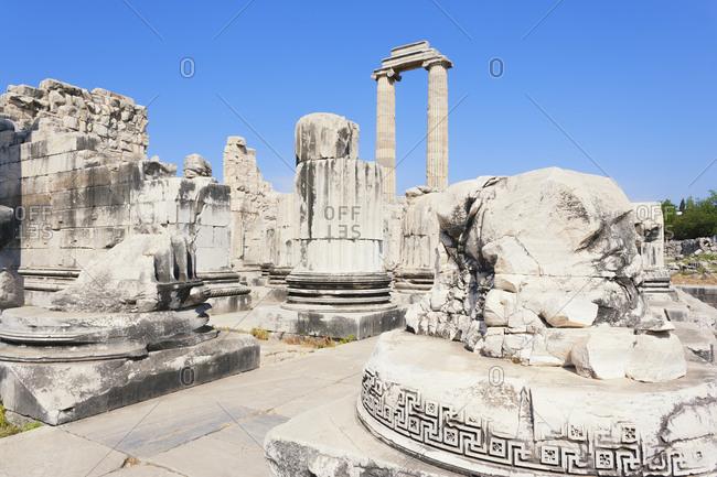 Temple of Apollo, Didyma, Anatolia, Turkey, Asia