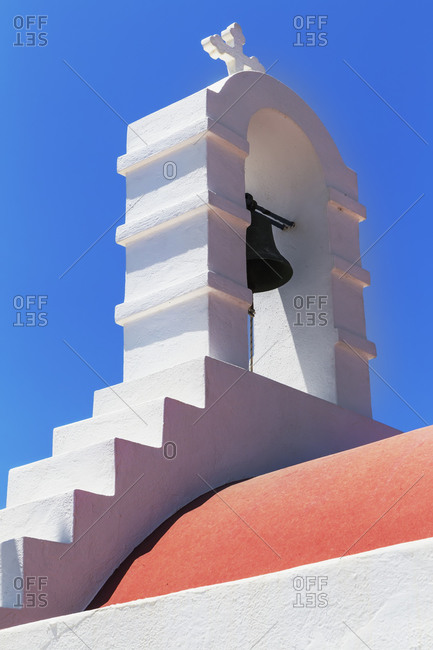 Greek orthodox chapel, Mykonos Town, Mykonos, Cyclades Islands, Greece