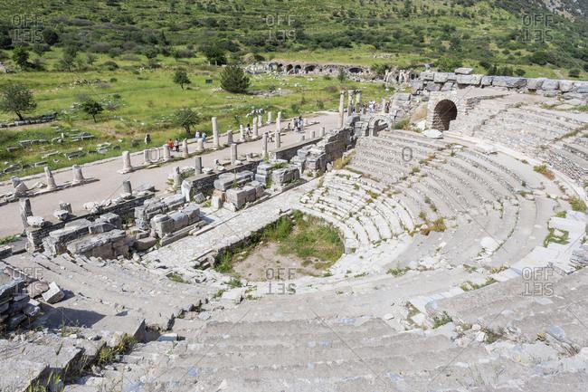 Amphitheatre, Ephesus, Turkey, Asia Minor, Asia