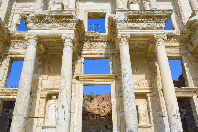 Library of Celsus, Ephesus, Turkey, Asia Minor, Asia