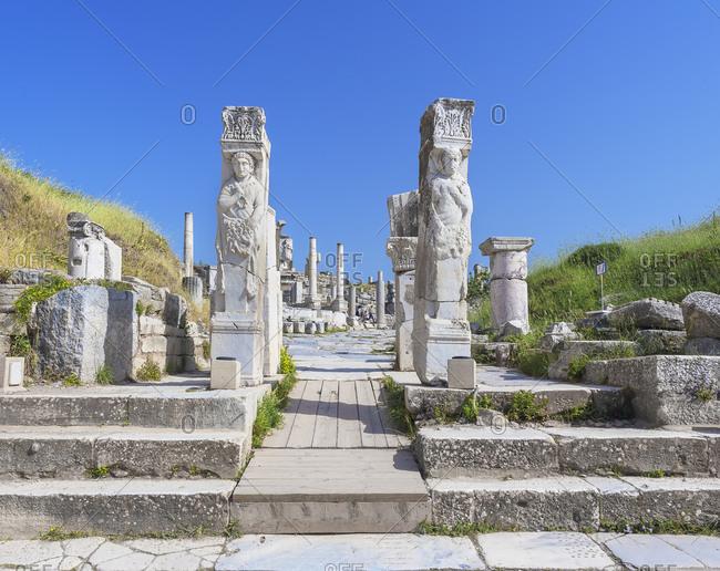 Hercules Gate, Ephesus, Turkey, Asia Minor, Asia