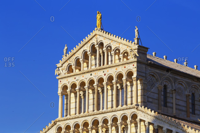 Pisa Cathedral, Campo dei Miracoli, Pisa, Tuscany, Italy, Europe