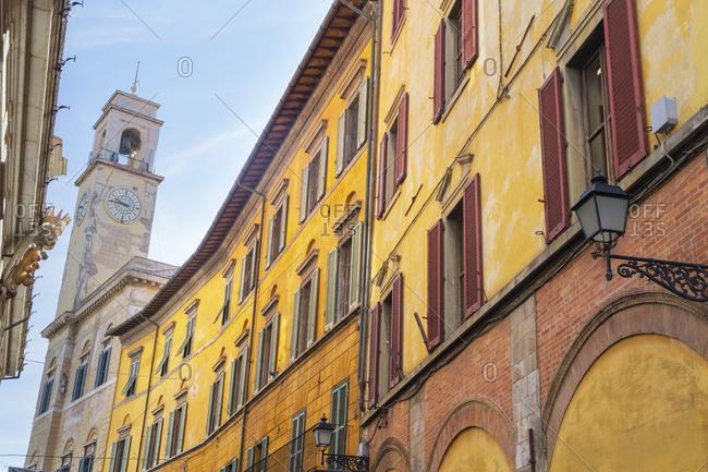 Pisa historic center, Pisa, Tuscany, Italy, Europe