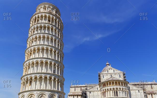 Leaning Tower, Campo dei Miracoli, Pisa, Tuscany, Italy, Europe