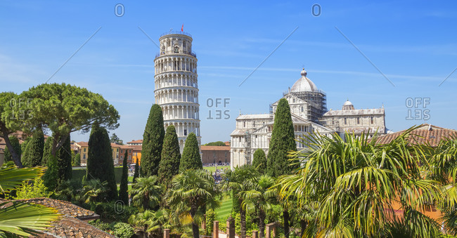 Leaning Tower, Pisa, Tuscany, Italy, Europe