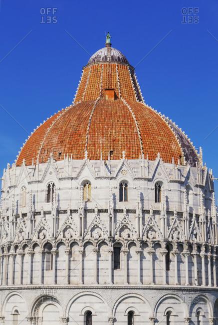 Baptistery, Pisa, Tuscany, Italy, Europe