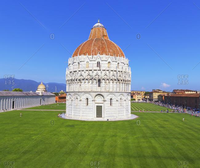 Campo dei Miracoli, Pisa, Tuscany, Italy, Europe