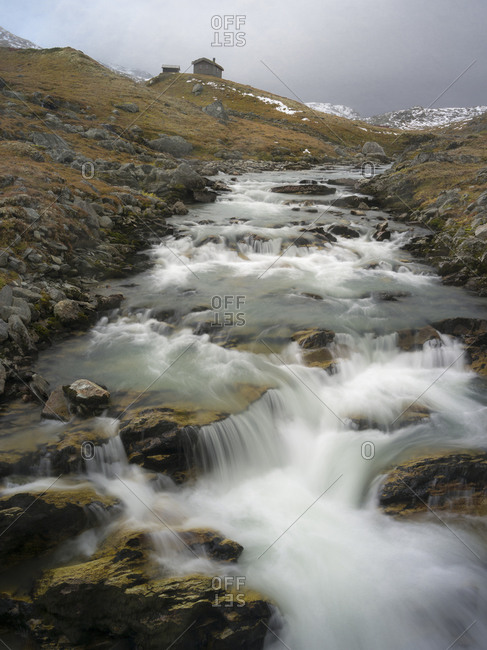 View of landscape in Dovrefjell, Norway