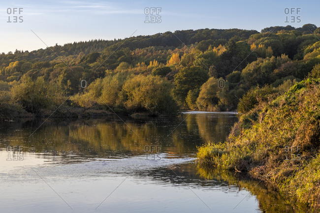 River Wye in Herefordshire, England