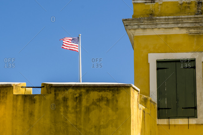 Fort Christiansted National Historic Site, Christiansted, St. Croix, US Virgin Islands.