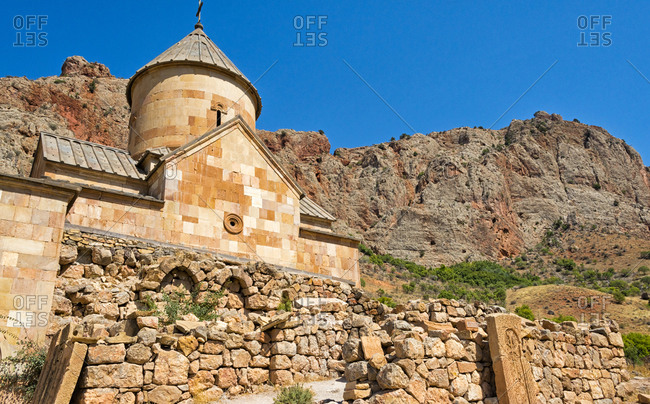 Noravank Monastery in Amaghu Valley, Vayots Dzor Province, Armenia