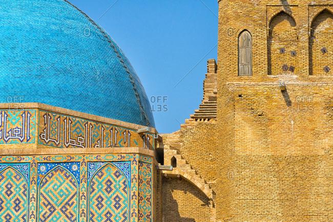 Mausoleum of Kohja Akhmet Yassawy, UNESCO World Heritage Site, Turkestan, Kazakhstan