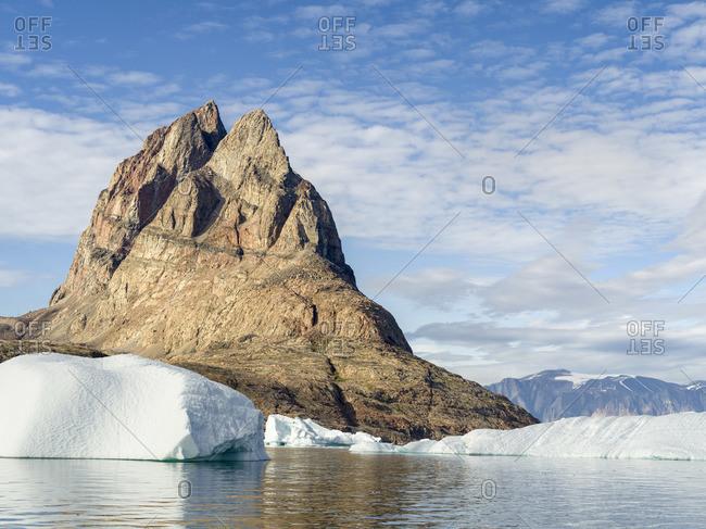Uummannaq Island and Fjord System, Greenland, Danish overseas colony.