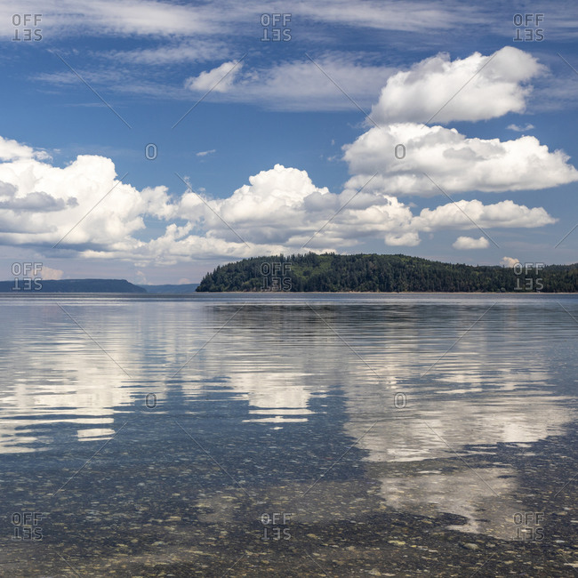 USA, Washington, Seabeck. Hood Canal in summer.