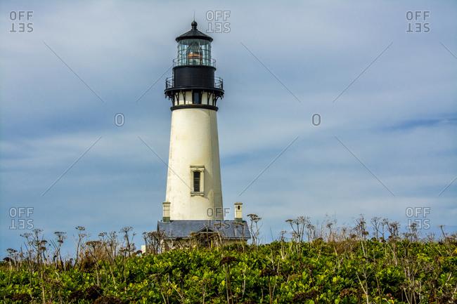 Yaquina Head Lighthouse, Yaquina Head Outstanding Natural Area, Newport, Oregon, USA