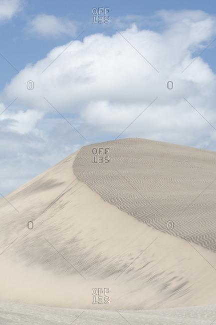 Fiji, Viti Levu. Sand dunes.
