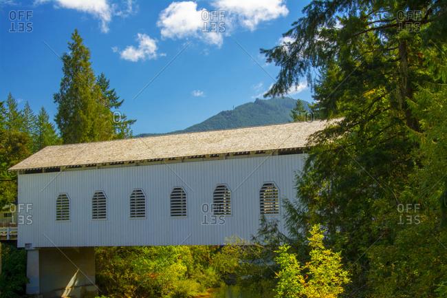 Dorena Bridge, Cottage Grove, Oregon, USA