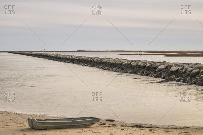 December 9, 2018: USA, Massachusetts, Cape Cod, Provincetown. Lands end