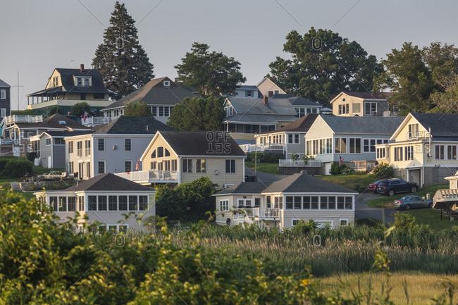 USA, Massachusetts, Ipswich. Great Neck view, morning