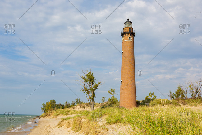 Little Sable Point Lighthouse near Mears, Michigan.