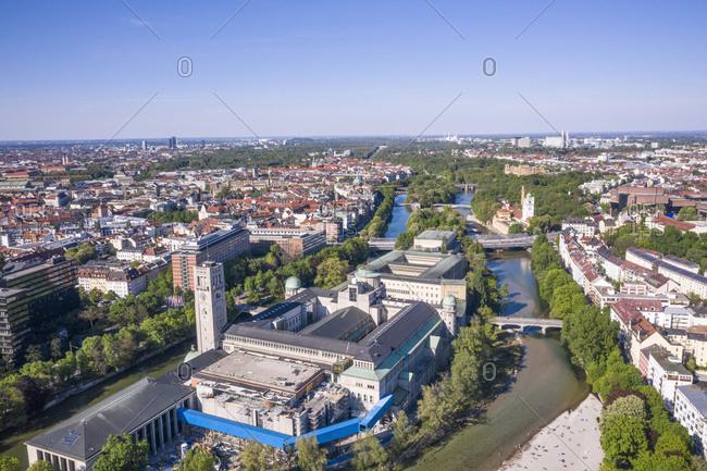 Aerial view of Munich- Bavaria- Munich