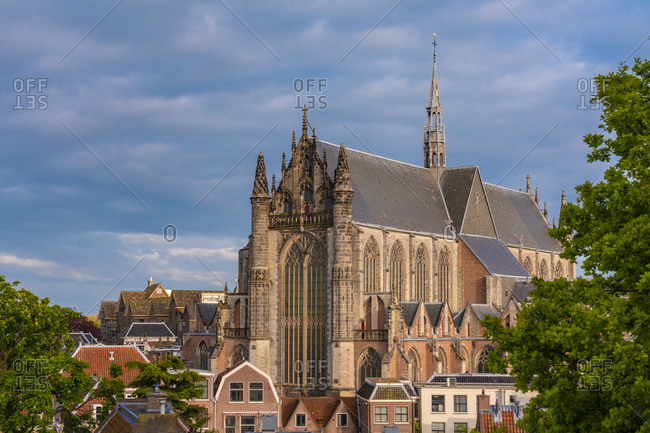 Netherlands- South Holland- Leiden- Hooglandse Kerk cathedral