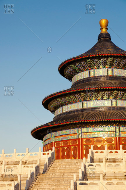 Temple of Heaven and steps