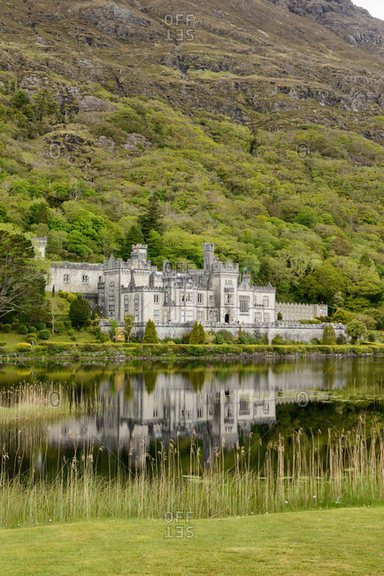 Kylemore Abbey Benedictine monastery, Connemara, County Galway, Ireland